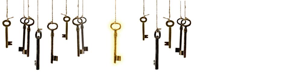 Der passende Schlüssel